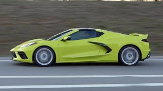 The 2020 C8 Corvette in Accelerate Yellow SPOTTED!