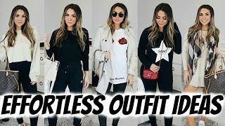HOW TO DRESS CUTE WITH NO EFFORT! COMFY CASUAL OUTFITS! ALEXANDREA GARZA