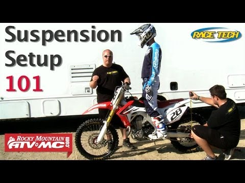 Basic Suspension Setup On A Motorcycle