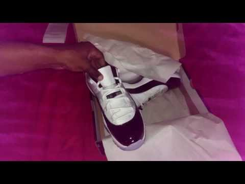 Jordan 11 low concords online camping success