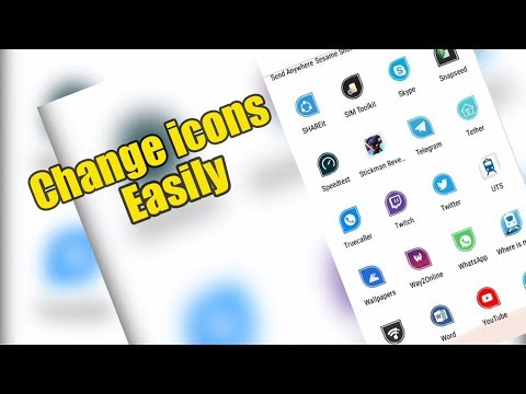 Customize Android UI | Change icons