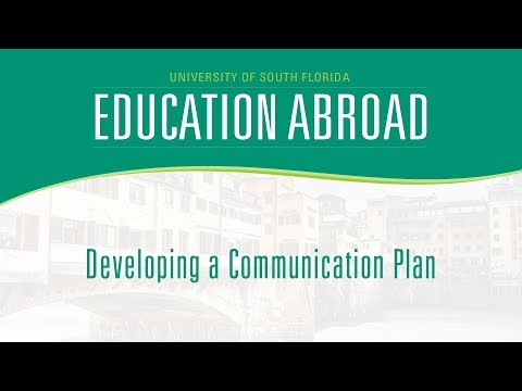 Education Abroad | Developing a Communication Plan