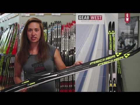 Fischer Superlite Crown Ski with Gear West