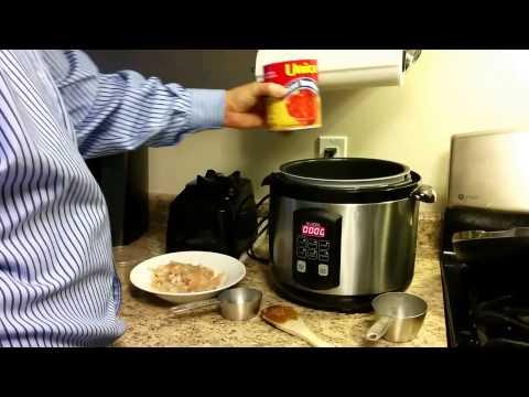 Fajita Rice in the Pressure Cooker