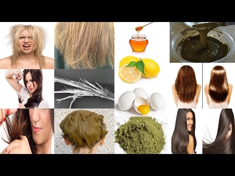 Home Remedies For split ends, Dry, Frizzy, Rough and Damaged Hair | How to Treat Split ends Hair
