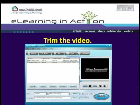 Trim, crop and merge YouTube Videos