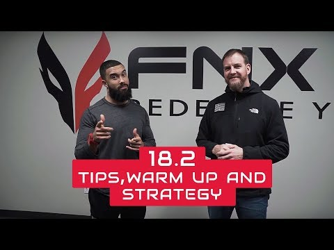 18.2 Tips, Warm up and Strategy