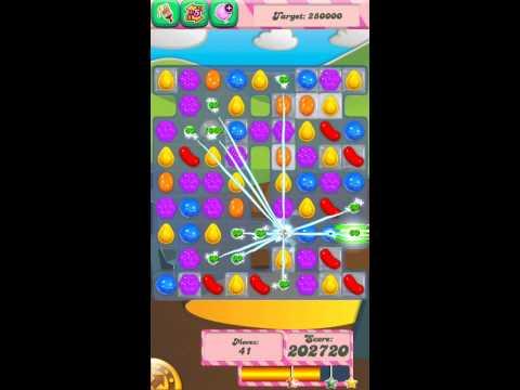 Candy Crush Saga Level 35 iPhone Version 3 Stars