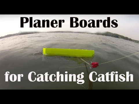 Catfish with Planer Boards - How to Use Planer Boards for Catfish