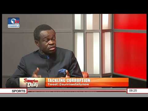 It Is Dangerous To Declare War Against Corruption In Africa -- Prof  Lumumba