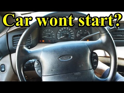 What to do if your Car won't Start