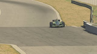 IndyCar Dallara 2009 at Atlanta Road Course in iRacing