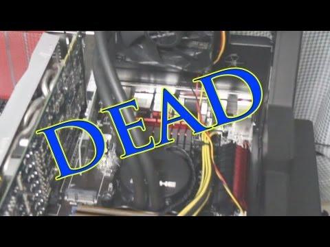 How To Spot a Dead CPU Water Cooler (My Asetek Water Pump Failed)