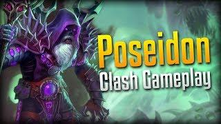 The Wiggly Worm Season 4 Poseidon Build Joust Gameplay Smite