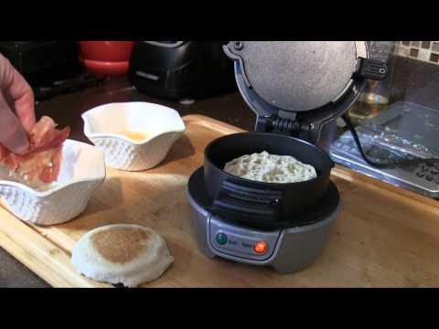Hamilton Beach Breakfast Sandwich Maker Test & Demo   Damn Good Reviews