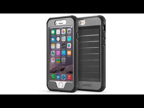 Anker Ultra Protective Case With Built in Clear Screen Protector for iPhone 6 and 6 Plus