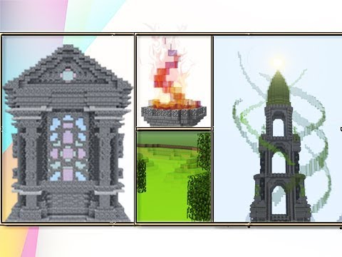 The Wonders Of Stained Glass In Minecraft!