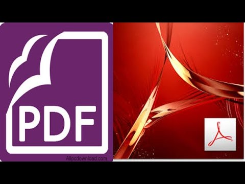 How to create AutoCAD DWG to PDF and ediiting  |  Adobe Acrobat DC & Foxit PhantomPDF