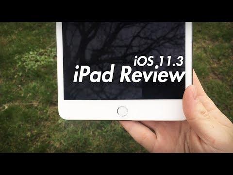 iOS 11.3 iPad Review