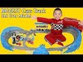 The BIGGEST Disney Cars Track EVER MADE Ultimate Florida Speedway Fun Time With Ckn Toys