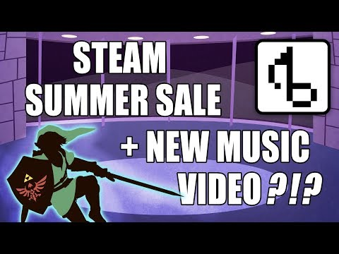Steam Summer Sale + New Music Video! (Vlog Update) - Brentalfloss