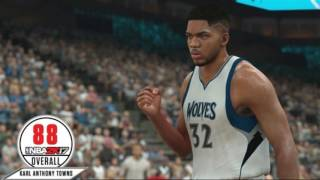 NBA 2K17 Ratings So Far!   Ben Simmons, Karl-Anthony Towns   Drummond + More!