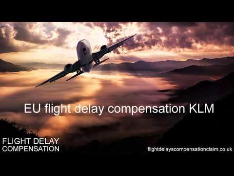 EU flight delay compensation KLM
