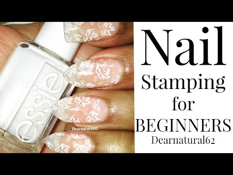 NAIL ART STAMPING FOR BEGINNERS   Dearnatural62