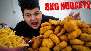 😍Wir haben 10KG Chicken Nuggets gemacht und verteilt diesmal