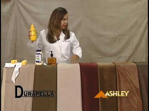 Ashley Video on Cleaning and Maintaining Microfiber Fabrics
