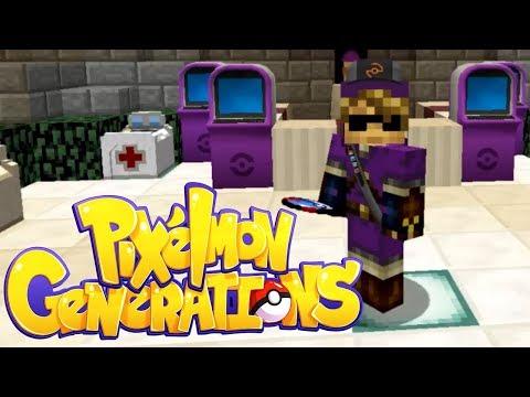 Pixelmon Generations: Unova Legends - Episode 1