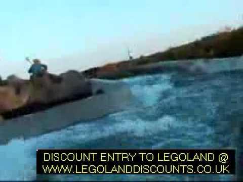 Vikings River Splash Rapids Ride at Legoland UK