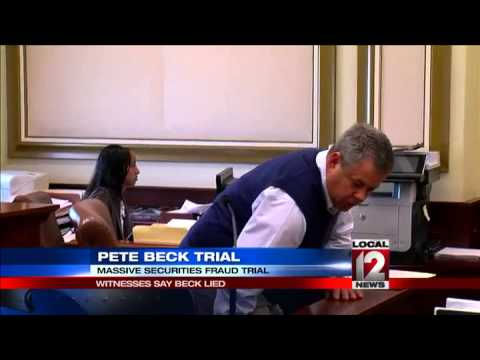 Witnesses say Beck lied in massive securities fraud trial