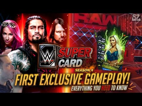 WWE SUPERCARD SEASON 4 FIRST EXCLUSIVE GAMEPLAY!! EVERYTHING YOU NEED TO KNOW!