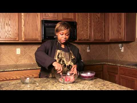 How to Mix Strawberries & Sugar : Cooking Skills & Recipes