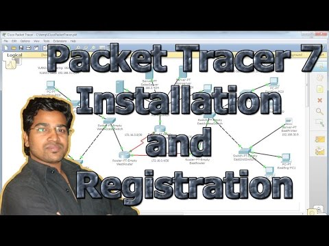Packet tracer Installation and registration