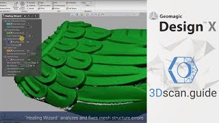 Reverse Engineering an Impeller with Geomagic Design X - The Most