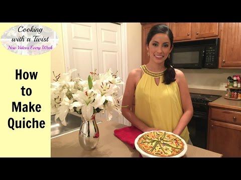 Homemade Quiche Recipe - How to make Quiche - Bacon Quiche Recipe