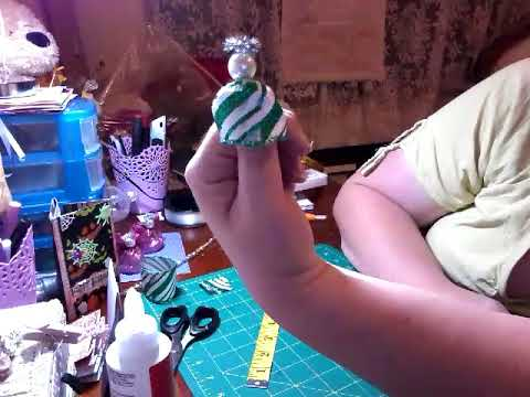 Wire-edged Ribbon Angels - How to