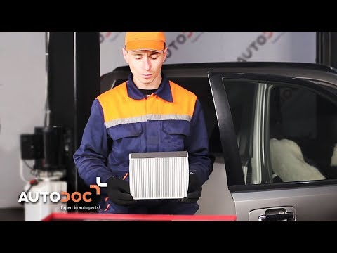How to replace pollen filter NISSAN X-TRAIL T30 TUTORIAL | AUTODOC