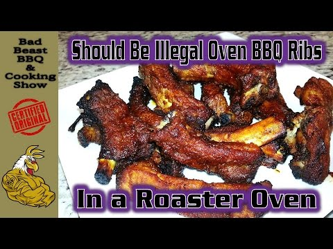 Should Be Illegal Oven BBQ Ribs | Roster Oven