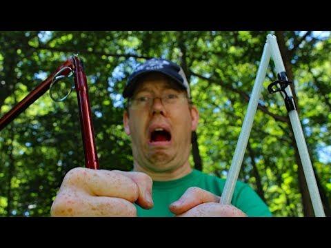 Catfishing Rod Review: Berkley Glow Stik VS Rippin Lips - Fishing rod review week!