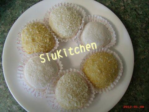 [Eng-Recipe] How to make peanut mochi (花生糯米糍)