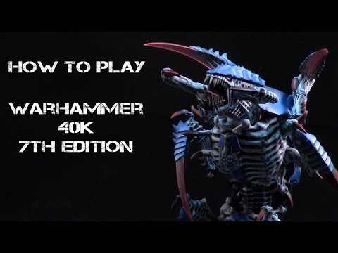 How to Play Warhammer 40K 7th Ed. : Part 7  - The Reserve Phase