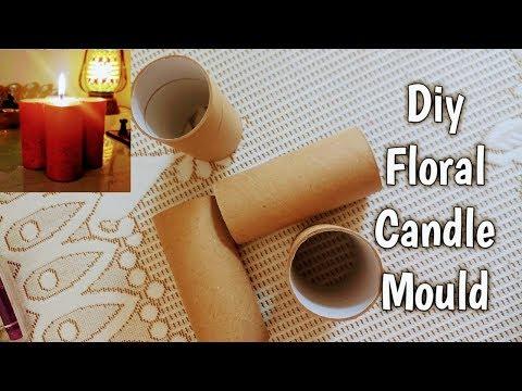 Diy Floral Candle Mould