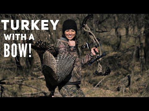 Sarah Bowmar Kansas Archery Turkey 2018   Bowmar Bowhunting  