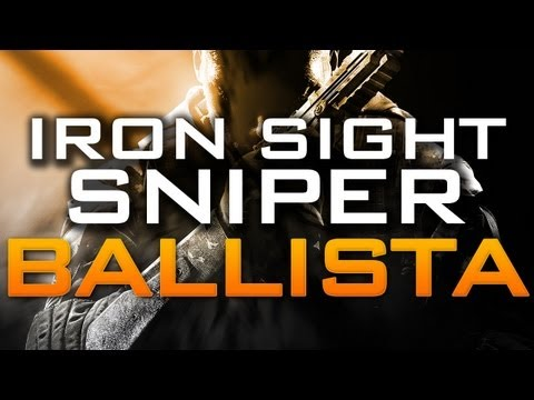 H3CZ- IRONSIGHT SNIPER RIFLE BALLISTA GAMEPLAY DISCUSSION (COD2 GAMEPLAY)