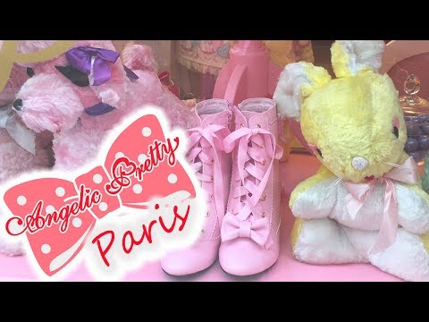 Visiting ANGELIC PRETTY in PARIS