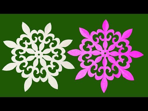 Kirigami#How to make simple paper cutting design flower?Diy_Easy Carfts.