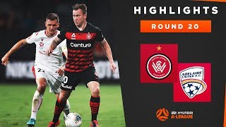 Highlights: Western Sydney Wanderers FC v Adelaide United – Round 20 Hyundai A-League 2019/20 Season